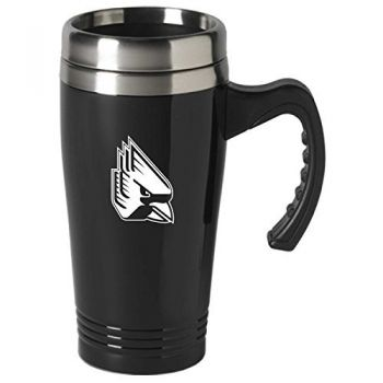 Ball State University-16 oz. Stainless Steel Mug-Black