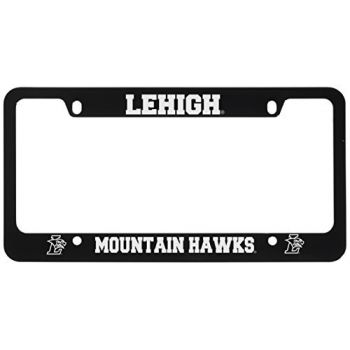 Lehigh University-Metal License Plate Frame-Black