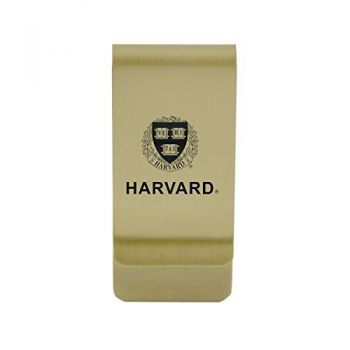 University of Hartford|Money Clip with Contemporary Metals Finish|Solid Brass|High Tension Clip to Securely Hold Cash, Cards and ID's|Silver
