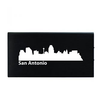 Quick Charge Portable Power Bank 8000 mAh - San Antonio City Skyline