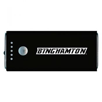 Binghamton University-Portable Cell Phone 5200 mAh Power Bank Charger -Black
