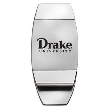 Drake University - Two-Toned Money Clip