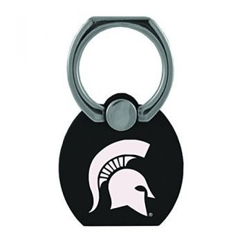 Michigan State University|Multi-Functional Phone Stand Tech Ring|Black