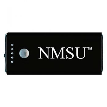 New Mexico State-Portable Cell Phone 5200 mAh Power Bank Charger -Black