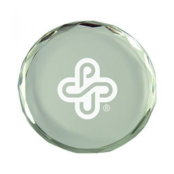 Portland State University-Crystal Paper Weight