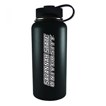 Savannah State University -32 oz. Travel Tumbler-Black