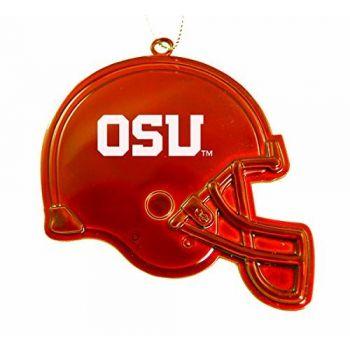 Oregon State University - LED Flashlight Bottle Opener Keychain - Black