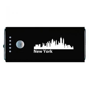 Quick Charge Portable Power Bank 5200 mAh - New York City City Skyline