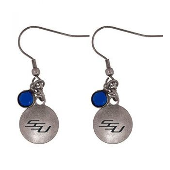 Savannah State University-Frankie Tyler Charmed Earrings