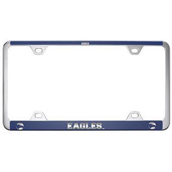 Georgia Southern University-Metal License Plate Frame-Blue