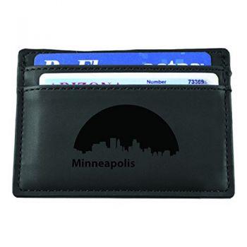 Minneapolis, Minnesota-European Money Clip Wallet-