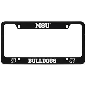 Mississippi State University -Metal License Plate Frame-Black
