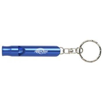 Pepperdine University - Whistle Key Tag - Blue