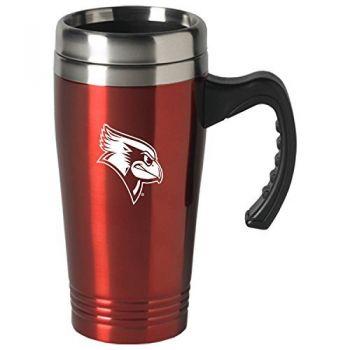 Illinois State University-16 oz. Stainless Steel Mug-Red