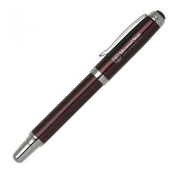 Missouri State University - Carbon Fiber Rollerball Pen - Burgundy