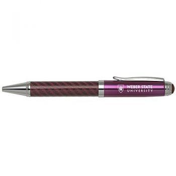 Weber State University -Carbon Fiber Mechanical Pencil-Pink