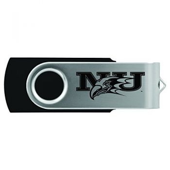 Niagara University -8GB 2.0 USB Flash Drive-Black