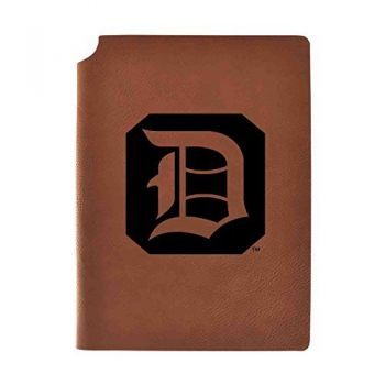 Duquesne University Velour Journal with Pen Holder|Carbon Etched|Officially Licensed Collegiate Journal|