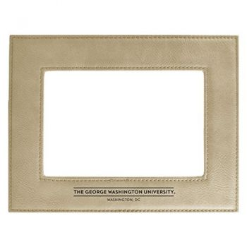 George Washington University-Velour Picture Frame 4x6-Tan