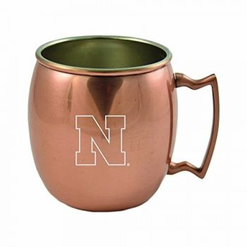 University of Nebraska-16 oz. Copper Mug