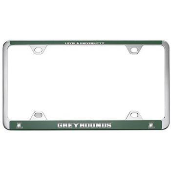 Loyola University Maryland-Metal License Plate Frame-Green