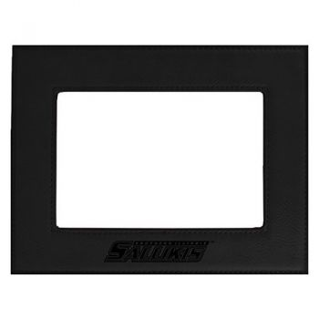 Southern Illinois University-Velour Picture Frame 4x6-Black