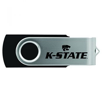Kansas State University -8GB 2.0 USB Flash Drive-Black