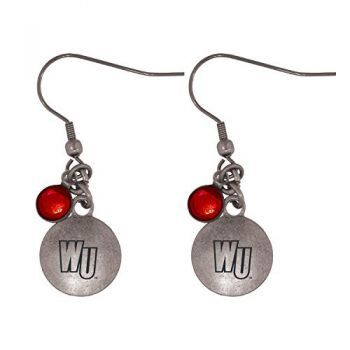 Winthrop University-Frankie Tyler Charmed Earrings