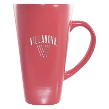 Villanova University -16 oz. Tall Ceramic Coffee Mug-Pink