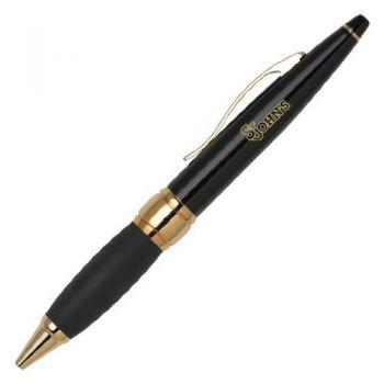 St. John's University - Twist Action Ballpoint Pen - Black