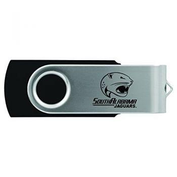 University of South Alabama -8GB 2.0 USB Flash Drive-Black