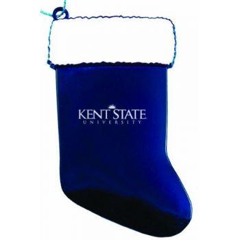 Kent State University - Christmas Holiday Stocking Ornament - Blue