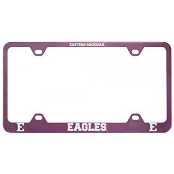Eastern Michigan University-Metal License Plate Frame-Pink