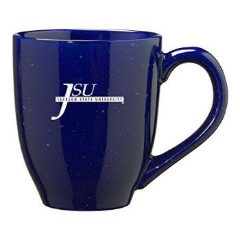 Jackson State University - 16-ounce Ceramic Coffee Mug - Blue