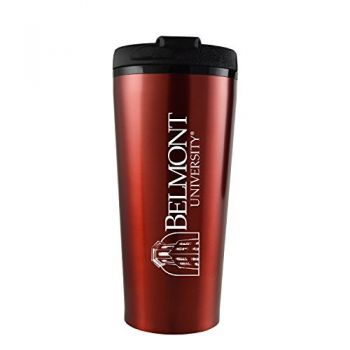 Belmont University-16 oz. Travel Mug Tumbler-Red