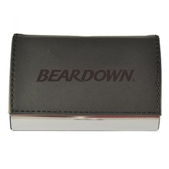 Velour Business Cardholder-Arizona Wildcats-Black