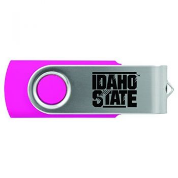 Idaho State University -8GB 2.0 USB Flash Drive-Pink