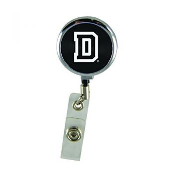 Dartmouth College-Retractable Badge Reel-Black