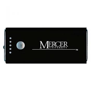 Mercer University -Portable Cell Phone 5200 mAh Power Bank Charger -Black