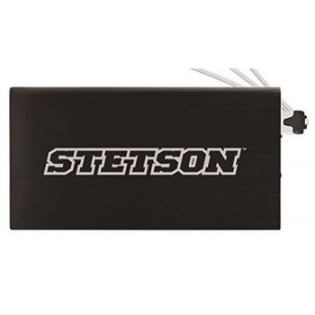 8000 mAh Portable Cell Phone Charger-Stetson University -Black