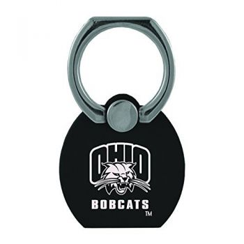 Ohio University|Multi-Functional Phone Stand Tech Ring|Black