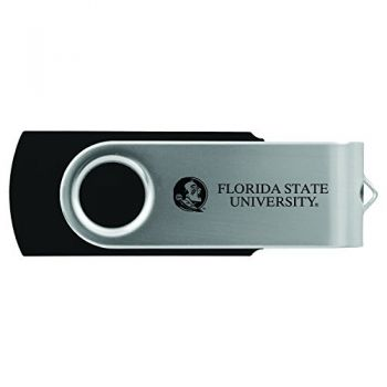 Florida State University -8GB 2.0 USB Flash Drive-Black