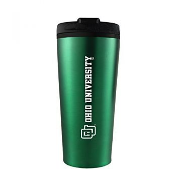 Ohio University -16 oz. Travel Mug Tumbler-Green