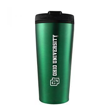 Ohio University -16 oz. Travel Mug Tumbler-Green