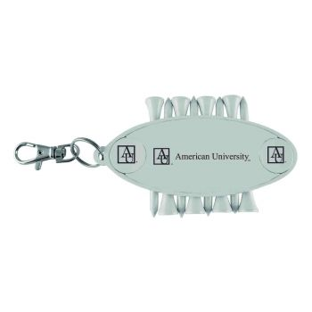 American University-Caddy Bag Tag