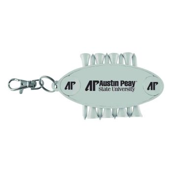 Austin Peay State University-Caddy Bag Tag