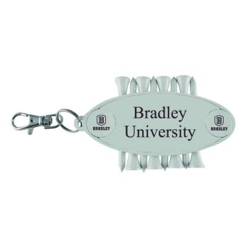 Bradley University-Caddy Bag Tag