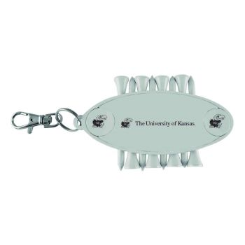 The University of Kansas-Caddy Bag Tag