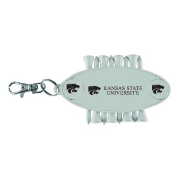 Kansas State University-Caddy Bag Tag