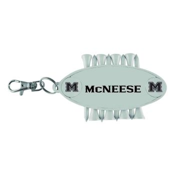 McNeese State University-Caddy Bag Tag
